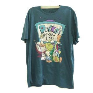 Rocko's Modern Life T-Shirt, Unisex XXL